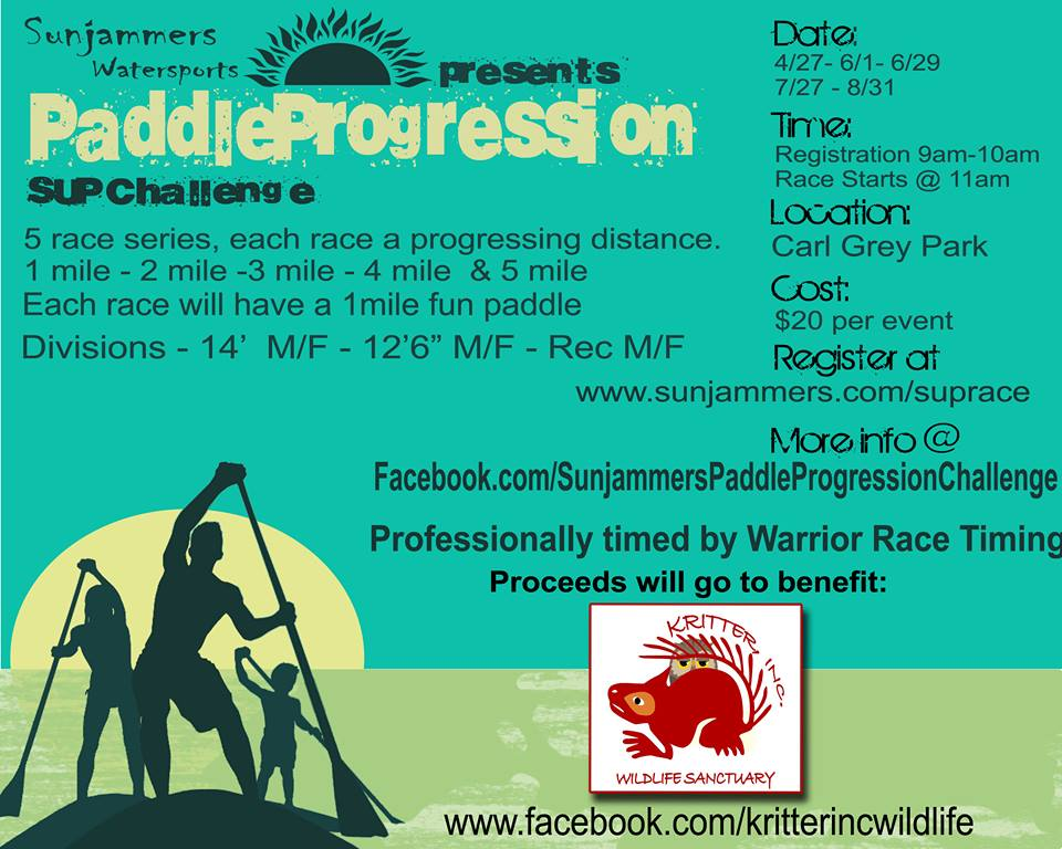 sunjammers paddle event